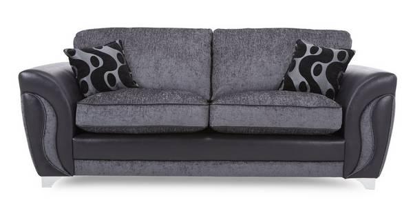Farrow 3 Seater Formal Back Sofa