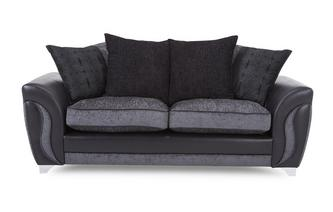 3 Seater Pillow Back Sofa Talia