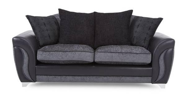 Farrow 3 Seater Pillow Back Sofa