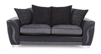 Farrow 3 Seater Pillow Back Sofa Bed