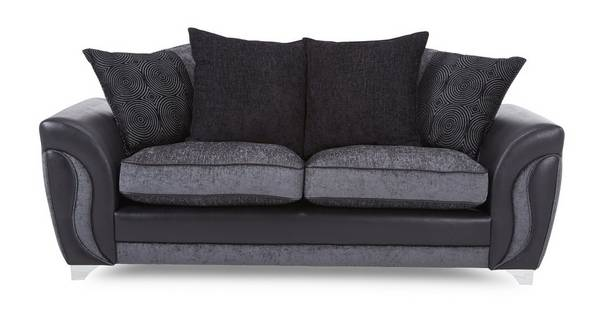 Farrow 3 Seater Pillow Back Deluxe Sofa Bed