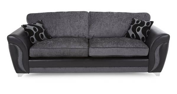 Farrow 4 Seater Formal Back Sofa