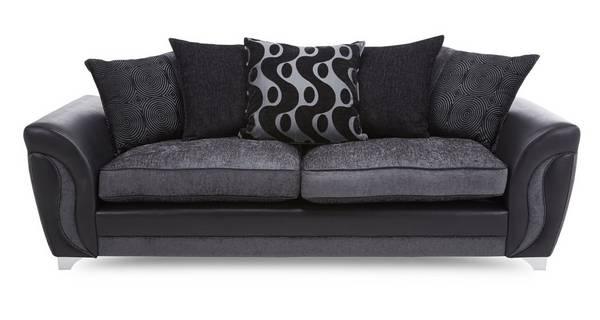 Farrow 4 Seater Pillow Back Sofa