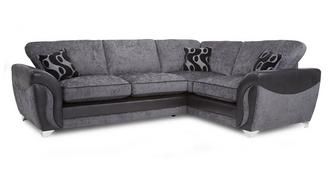 Farrow Left Hand Facing 3 Seater Formal Back Corner Sofa