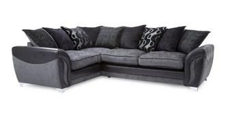Farrow Right Hand Facing 3 Seater Pillow Back Corner Sofa