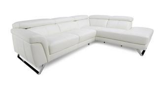Fellini Left Hand Facing 2 Piece Corner Sofa