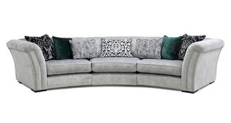 Ffion 3 Piece Curved Sofa