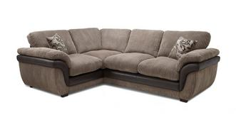 Finchley Right Hand Facing 2 Seater Formal Back Corner Deluxe Sofa Bed