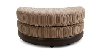 Findlay Half Moon Footstool