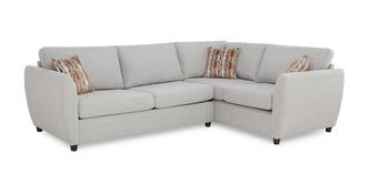 Finlay Left Arm Facing Corner Deluxe Sofa Bed