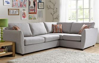 Corner Sofa Beds In Both Leather & Fabric