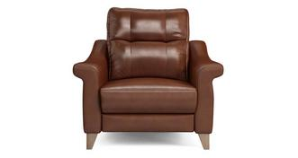 Flair Leather N Power Recliner Cuddler