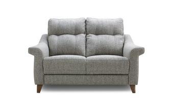 Fabric A 2 Seater Fixed Sofa