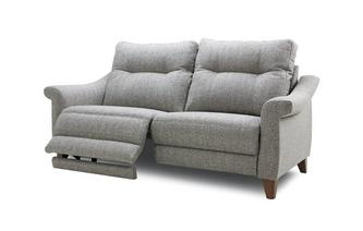 Fabric A 3 Seater Power Recliner