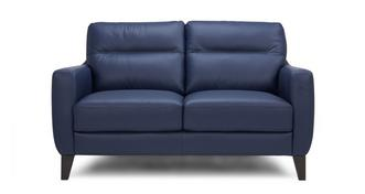 Fletch Leather and Leather Look 2 Seater Sofa