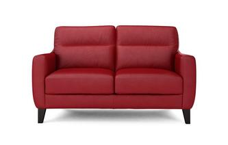 Fletch Leather and Leather Look 2 Seater Sofa Hazen
