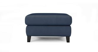 Fletch Leather and Leather Look Storage Footstool