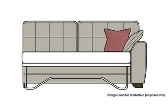 Right Hand Facing 1 Arm 3 Seat Deluxe Bed Unit