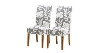 Floral Dining Chair Set of 2 Floral Dining Chairs