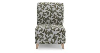 Flutter Small Butterfly Accent Chair