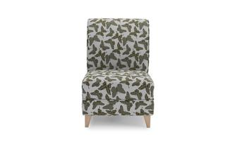 Small Butterfly Accent Chair Flutter
