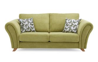 2 Seater Formal Back Sofa Flutter