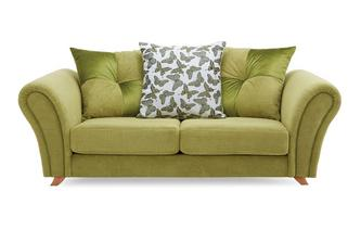 2 Seater Pillow Back Sofa Flutter