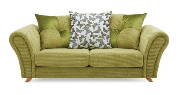 Flutter 2 Seater Pillow Back Sofa