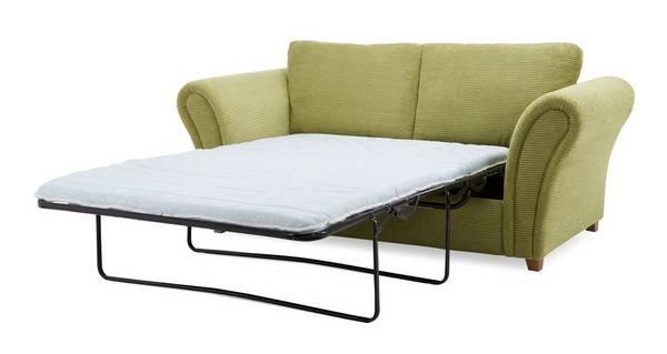 Flutter 2 Seater Formal Back Deluxe Sofa Bed
