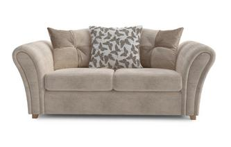 Flutter 2 Seater Pillow Back Deluxe Sofa Bed Flutter