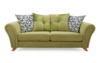 3 Seater Pillow Back Sofa Flutter