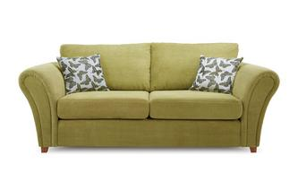 3 Seater Formal Back Deluxe Sofa Bed Flutter