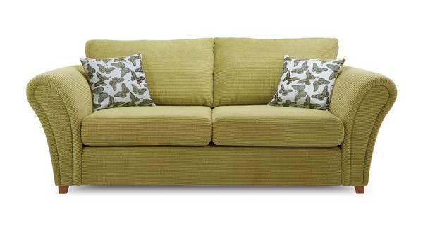 Flutter 3 Seater Formal Back Deluxe Sofa Bed