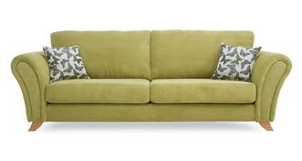 Flutter 4 Seater Formal Back Sofa