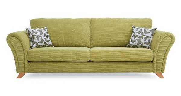 Flutter 4 Seater Formal Back Sofa