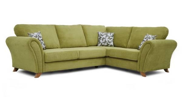 Flutter Left Hand Facing 3 Seater Formal Back Corner Sofa