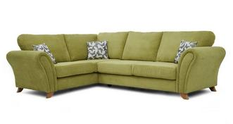 Flutter Right Hand Facing 3 Seater Formal Back Corner Sofa