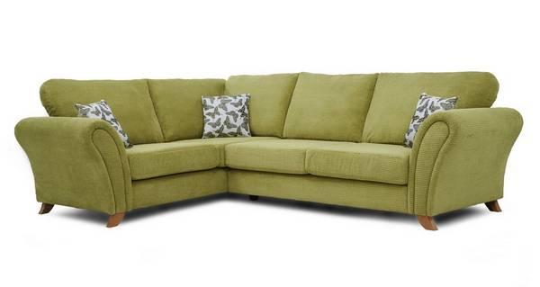 Flutter Right Hand Facing 3 Seater Formal Back Corner Sofa