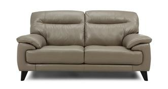 Flynn Leather and Leather Look 2 Seater Sofa