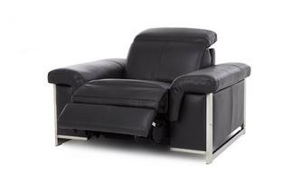 Handbediende recliner stoel Commander