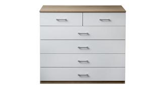 Fremont 6 Drawer Wide Chest