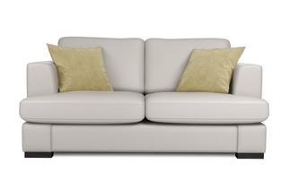 Leather 2 Seater Deluxe Sofa Bed