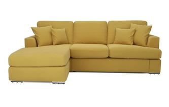 Left Hand Facing 2 Piece Lounger Sofa