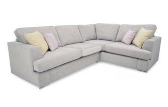 Left Hand Facing 2 Piece Corner Deluxe Sofa Bed