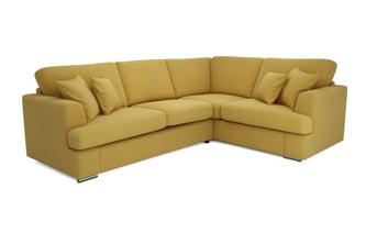 Left Hand Facing 2 Piece Corner Deluxe Sofa Bed Spectrum