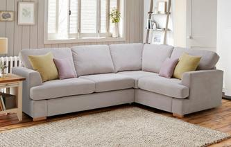 Freya Left Hand Facing 2 Piece Corner Deluxe Sofa Bed Freya