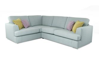 Freya Right Hand Facing 2 Piece Corner Deluxe Sofa Bed Freya