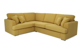Right Hand Facing 2 Piece Corner Deluxe Sofa Bed