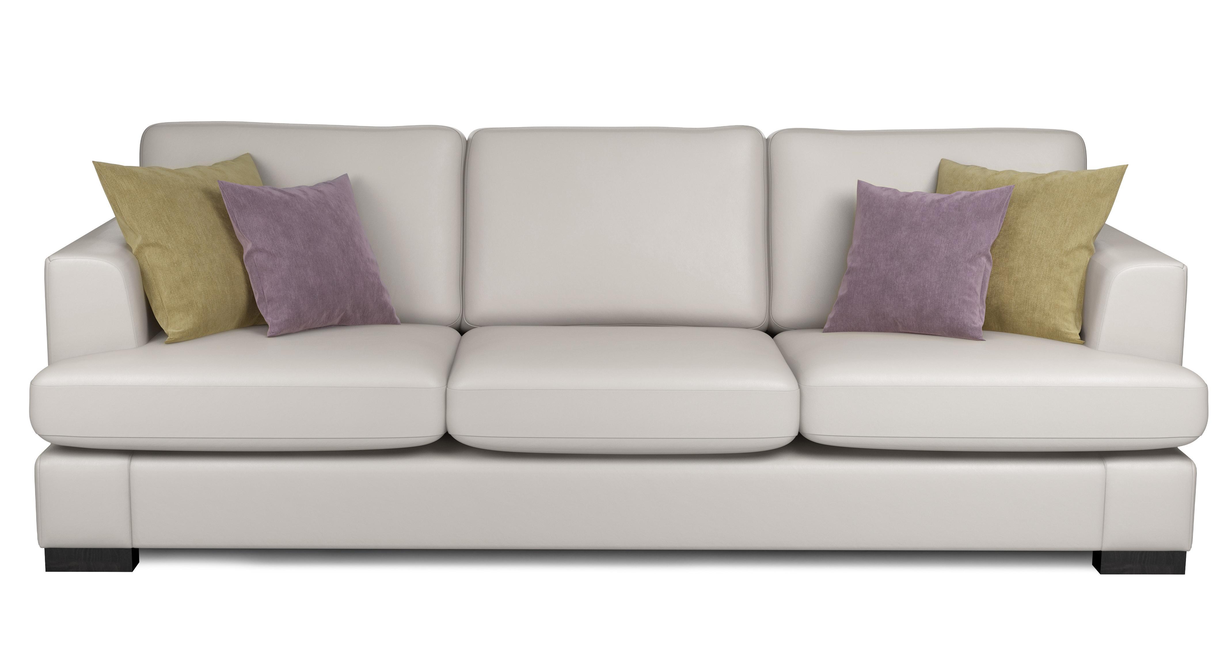 Wonderful Freya Leather 4 Seater Sofa Beau   DFS