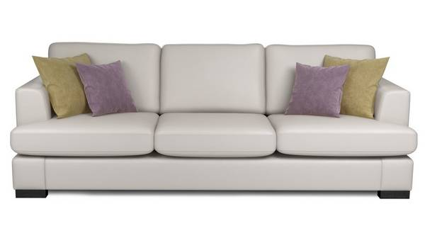 Freya Leather Left Hand Facing Chaise End Sofa Beau Dfs